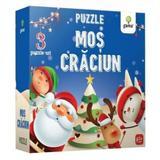 Mos Craciun - Puzzle educativ, editura Gama