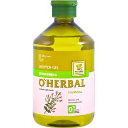 Gel de Dus Revitalizant cu Extract de Verbina O'Herbal, 500ml