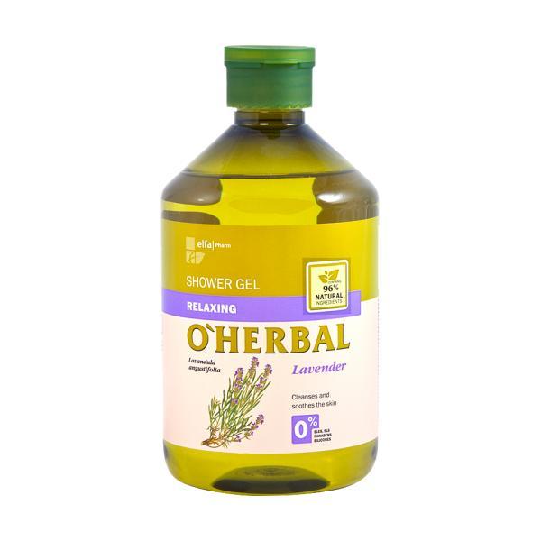Gel de Dus Relaxant cu Extract de Lavanda O'Herbal, 500ml esteto.ro