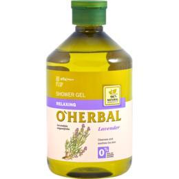 Gel de Dus Relaxant cu Extract de Lavanda O'Herbal, 500ml