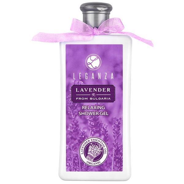 Gel de dus relaxant cu lavanda Leganza - Rosa Impex 200 ml imagine produs
