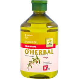 Gel de Dus Nutritiv cu Extract de Goji O'Herbal, 500ml