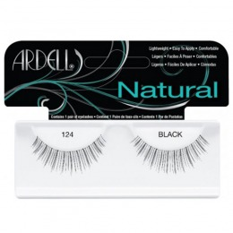Gene False tip Banda – Ardell Natural Lashes 124 Black de la esteto.ro