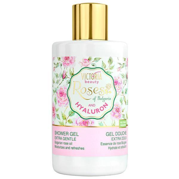 Gel de dus cu ulei de trandafiri si acid hialuronic - Aroma Therapy SPA 250 ml imagine produs