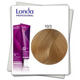 Vopsea Permanenta - Londa Professional nuanta 10/3 blond solar auriu