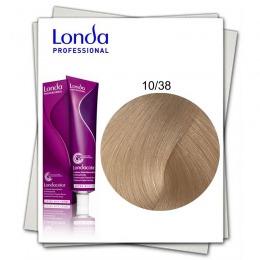 Vopsea Permanenta - Londa Professional nuanta 10/38 blond solar auriu perlat
