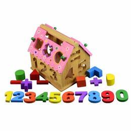 Casuta sortator forme, numere, culori si acoperis detasabil - X-Tone