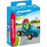 Playmobil Figurines - Baietel cu cart