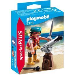 Playmobil Figurines - Pirat cu tun