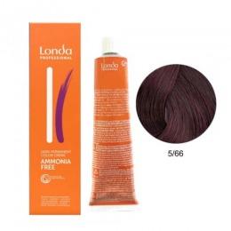 Vopsea Fara Amoniac - Londa Professional nuanta 5/66 castaniu deschis violet intens