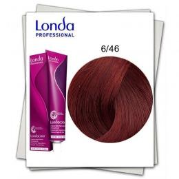 Vopsea Permanenta - Londa Professional nuanta 6/46 blond inchis cupru violet