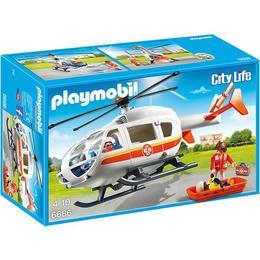 Playmobil City Life - Elicopter medical de urgenta