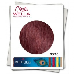 Vopsea Permanenta - Wella Professionals Koleston Perfect nuanta 66/46 blond inchis intens rosu violet
