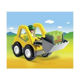 Playmobil 1.2.3 - Excavator