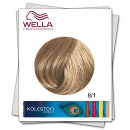 Vopsea Permanenta - Wella Professionals Koleston Perfect nuanta 8/1 blond deschis cenusiu