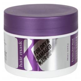 Masca pentru Par Uscat si Deteriorat - Kashmir Keratin 3 Technology Hair Mak 500 ml