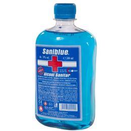 Alcool Sanitar Concentratie Alcoolica 70% Saniblue, 500ml