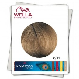 Vopsea Permanenta - Wella Professionals Koleston Perfect nuanta 8/11 blond deschis cenusiu intens