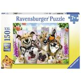 Puzzle animale prostute, 150 piese - Ravensburger