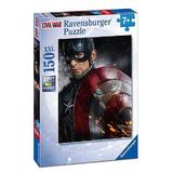 Puzzle avengers capitanul america, 150 piese - Ravensburger