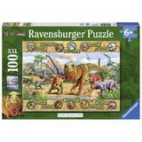 Puzzle dinozauri, 100 piese - Ravensburger