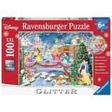 Puzzle craciunul printeselor disney, 100 piese xxl - Ravensburger