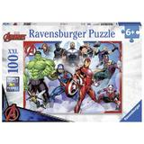Puzzle marvel avengers, 100 piese - Ravensburger