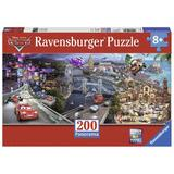 Puzzle cars panoramic, 200 piese - Ravensburger