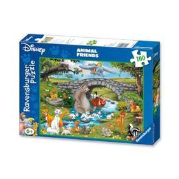 Puzzle lumea animalelor, 100 piese - Ravensburger