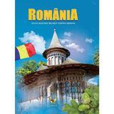 Romania. Atlas ilustrat roman-german, editura Aquila