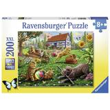 Puzzle animalute jucause, 200 piese - Ravensburger