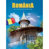 Romania. Atlas ilustrat roman-englez, editura Aquila