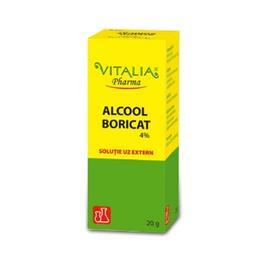 Alcool Boricat 4% Vitalia, 20g