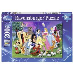 Puzzle disney personajele preferate, 200 piese - Ravensburger
