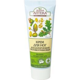 Crema Deodoranta si Antifungica pentru Picioare Zelenaya Apteka, 75ml