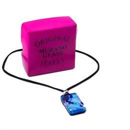 Set Murano cercei si colier cu pandantiv - Valentina Beads
