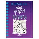 Jurnalul unui pusti vol.13: Dezghetul - Jeff Kinney - PRECOMANDA, editura Grupul Editorial Art