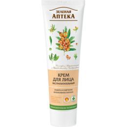 Crema Faciala Ultranutritiva cu Ulei de Catina Zelenaya Apteka, 100ml