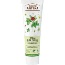 Crema Faciala Rejuvenanta Antirid cu Extract de Alge Marine Zelenaya Apteka, 100ml de la esteto.ro