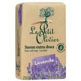 Sapun Vegetal cu Extract de Lavanda Le Petit Olivier, 250g