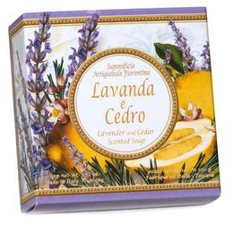 Sapun Artizanal Vegetal cu Lavanda si Cedru Saponificio Artigianale Fiorentino, 100g