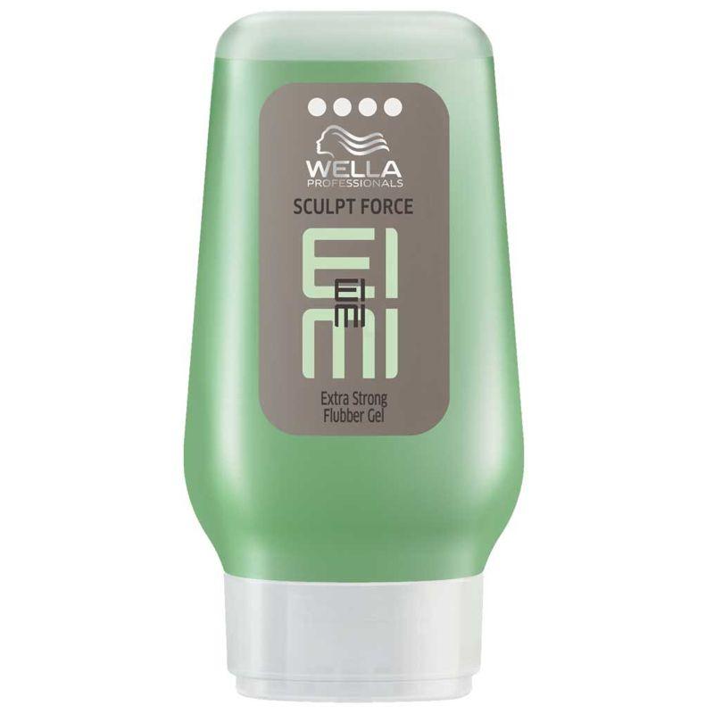 Gel Fixare Extra Puternica - Wella Professionals Eimi Sculpt Force Extra Strong Gel 125 ml imagine produs