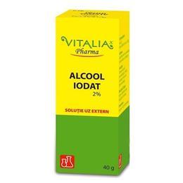 Alcool Iodat 2% Vitalia, 40g
