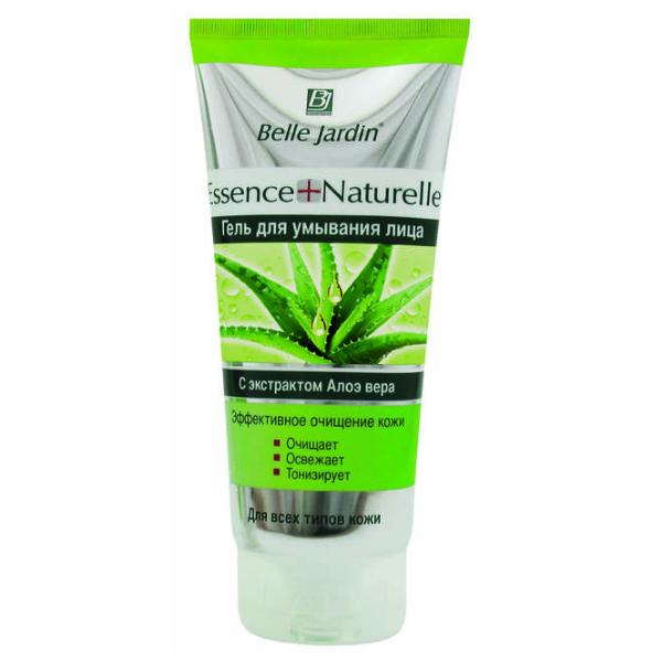 Gel de Curatare Faciala cu Extract de Aloe Vera Essence Naturelle Belle Jardin, 200ml imagine produs