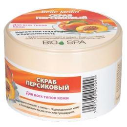 Exfoliant Purificator cu Extract de Piersica Bio Spa Belle Jardin, 200ml