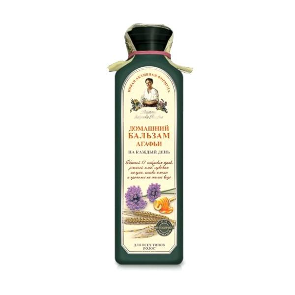 Balsam pe Baza de Apa de Gheata cu 17 Plante Siberiene pentru Utilizare Frecventa Retetele Bunicii Agafia, 350ml imagine produs
