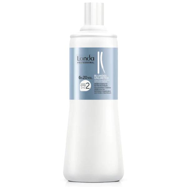 Oxidant Permanent 6% - Londa Professional Blondes Unlimited Creative Developer 20 vol 1000ml imagine