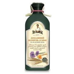 Sampon pe Baza de Apa de Gheata cu 17 Plante Siberiene pentru Utilizare Frecventa Retetele Bunicii Agafia, 350ml