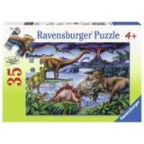 Puzzle dinozauri, 35 piese - Ravensburger