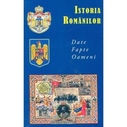 Istoria romanilor. Date, fapte, oameni, editura Meronia